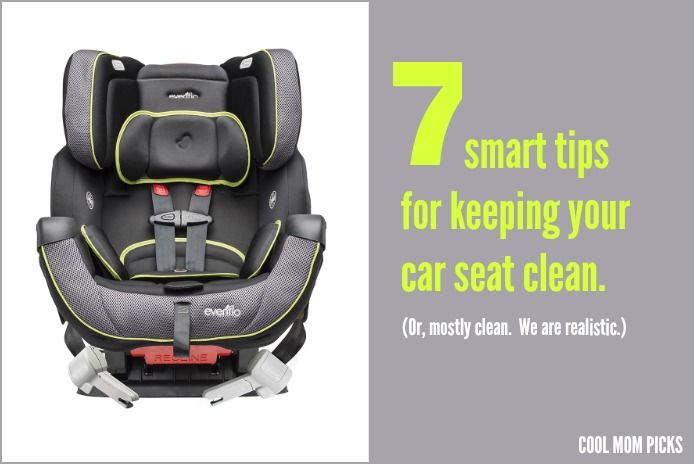Smart tips for keeping your car seat clean and getting out stains