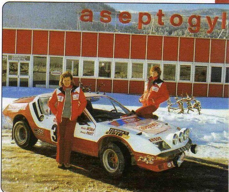 Marketta Oksala/Yvonne Pratt, Alpine Renault A310.