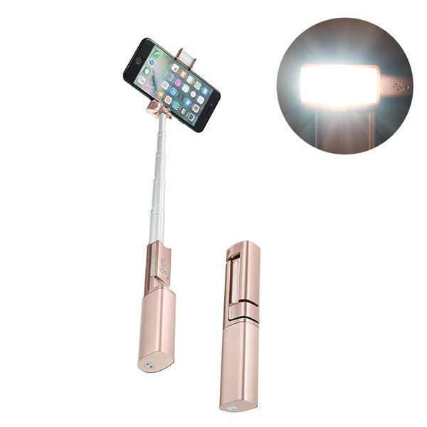 Rechargeable Multi-function Beauty Makeup Selfie Stick Fill Light Mosquito Repellent Flashlight