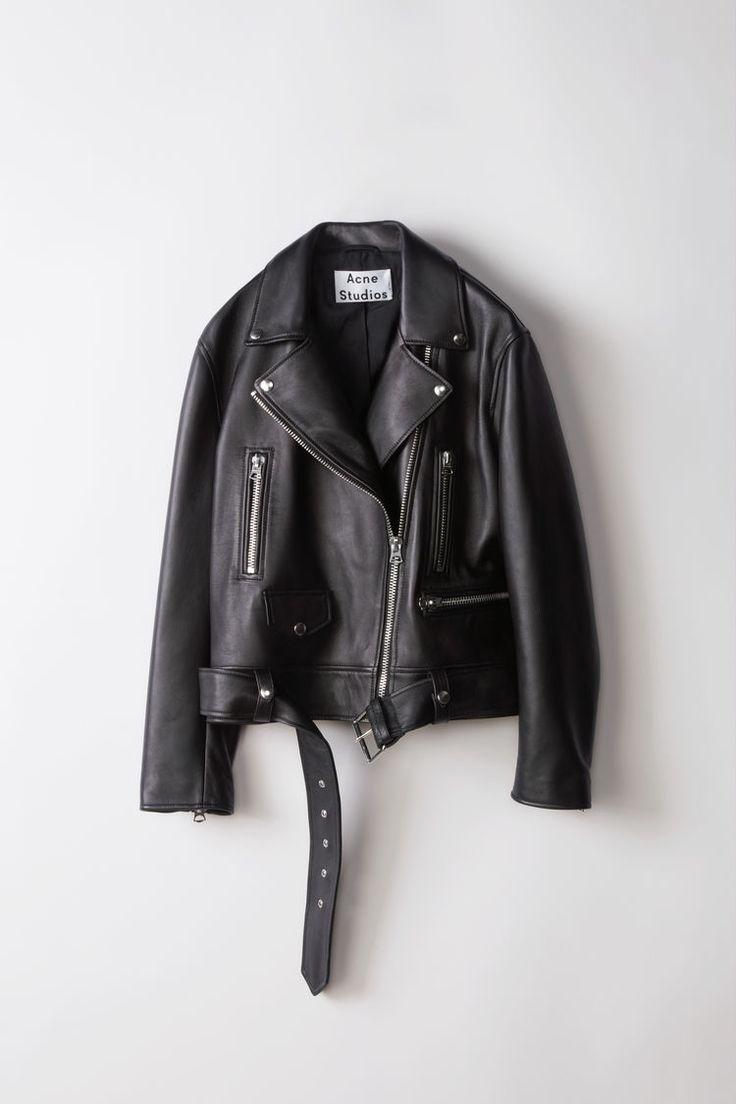 ACNE STUDIOS – Biker Leather Jacket