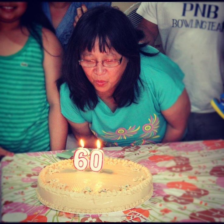 Inay Turned 60