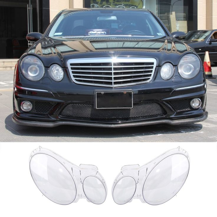 On sale US $50.73  New 2 Pcs Transparent Housing Headlight Lens Shell Cover Lamp Assembly For Benz W211 E240 E200 E280 E350 E300 06-09  #Transparent #Housing #Headlight #Lens #Shell #Cover #Lamp #Assembly #Benz  #BlackFriday