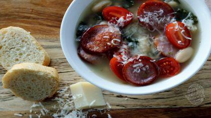 Grimm's Kolbassa Kale & White Bean Soup