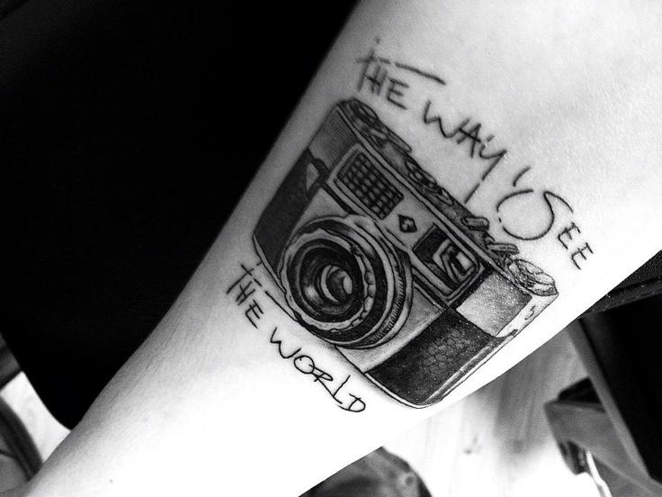My Camera Tattoo