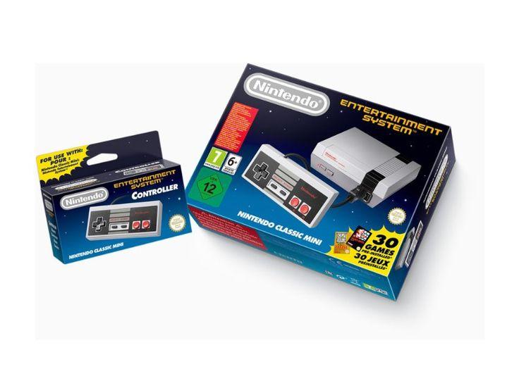 Nintendo Classic Mini Pelit