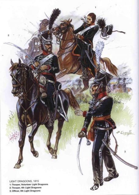 Belgian Light Dragoons 1815