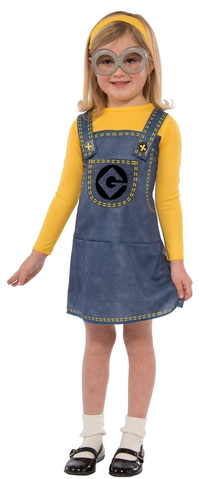 Your little one will have no problem finding the right evil genius to support with this adorable Minions Movie: Girls Minion Costume Kit. Help her make this her own and encourage her creativity by adding unique accessories!