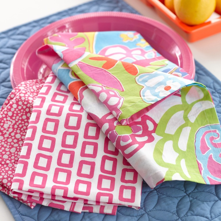 {Splashy!} Pine Cone Hill Twiggie Pink Napkin Set of 4 from @laylagrayce #pineconehill #laylagrayce #tabletop #entertaining: Pink Napkins, Napkins Sets, Hill Twiggy, Pineconehil Straight, Pine Cones Hill, Linens Napkins, Pineconehil Twiggy, Twiggy Pink, Tables Linens