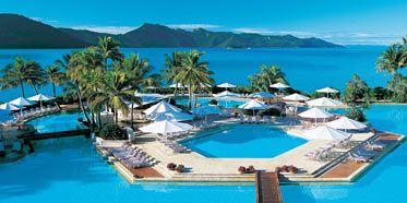 Hayman Island Resort.  Great Barrier Reef, Australia.