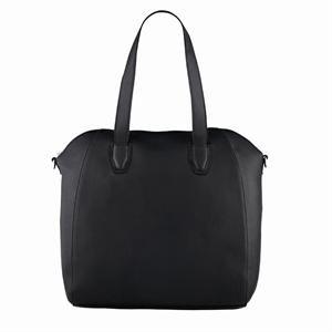 Fantastisk flot sort taske i fast design og ægte skind fra Depeche