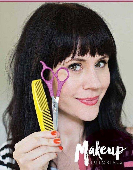 Как подстричь чёлку и не пожалеть об этом
