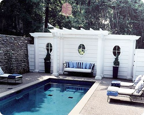 Pool fences don't have to be boring!