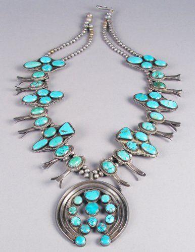 Squash Blossom Necklace c. 1940