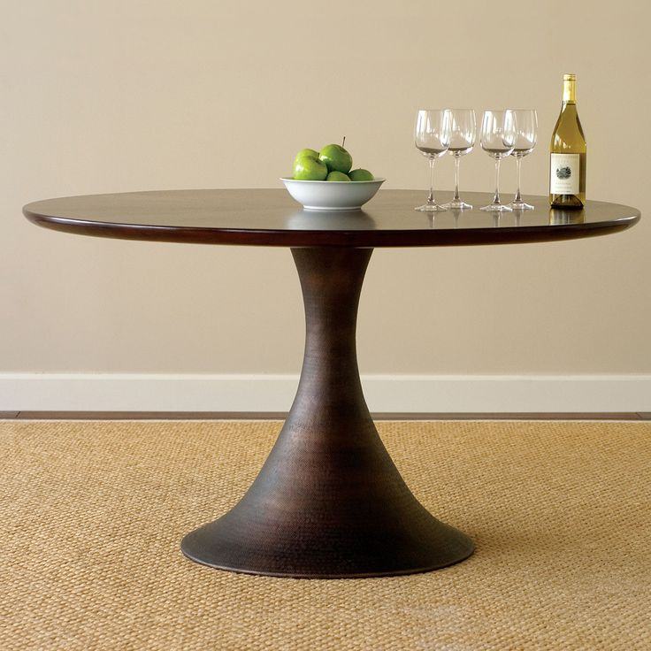 Casablanca Round Dining Table and Chairs by Brownstone | Dining Sets