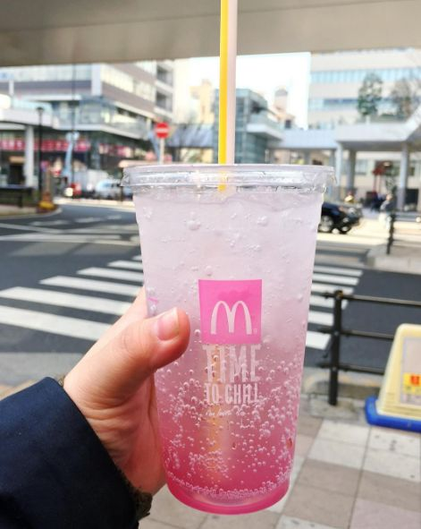 Sakura McFizz (McDonald's Malaysia) | 23 Crazy McDonald's And Starbucks Items You Can't Get In The U.S.