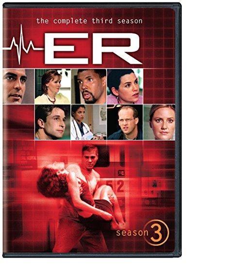 Anthony Edwards & George Clooney - ER: Season 3