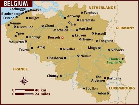 Belgium -  the land of milk and honey - it is great living here - you will never understand how things are working here - so complex - but .... I like it here