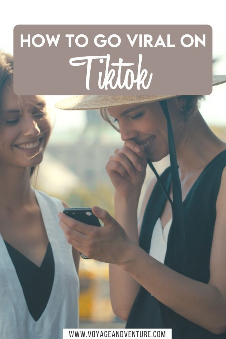How To Go Viral On Tiktok Blogger Tips Blog Tips Traveling By Yourself