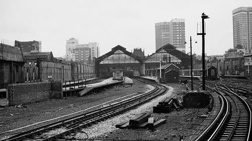 Broad Street station 1970 by Henry░Law, via Flickr