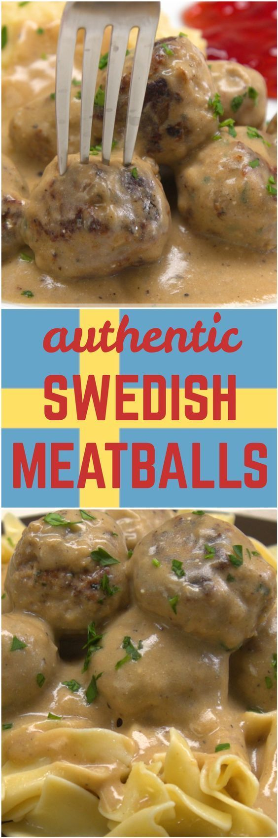 Best 25+ Authentic swedish meatballs recipe ideas on Pinterest ...