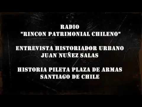 Historia pileta Plaza de Armas, Santiago de Chile