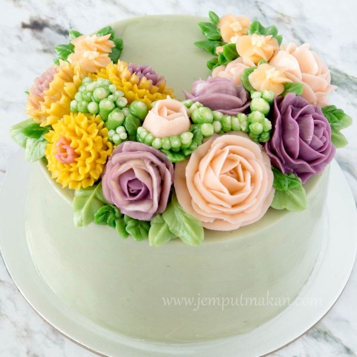 Korean-buttercream-flower