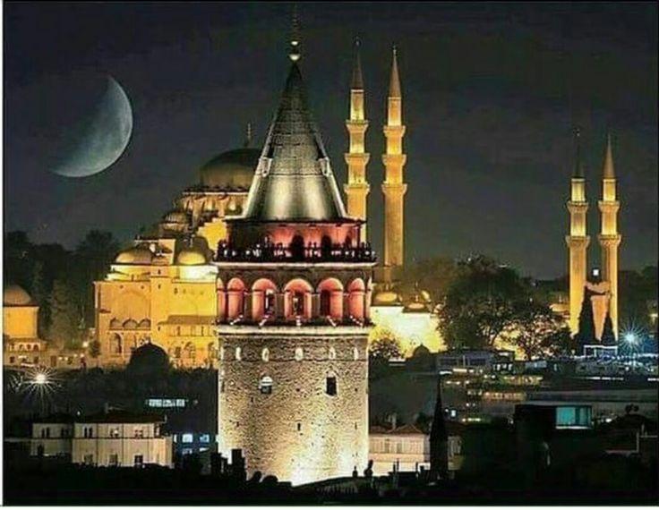 İSTANBUL - Galata Kulesi ve Siluetler