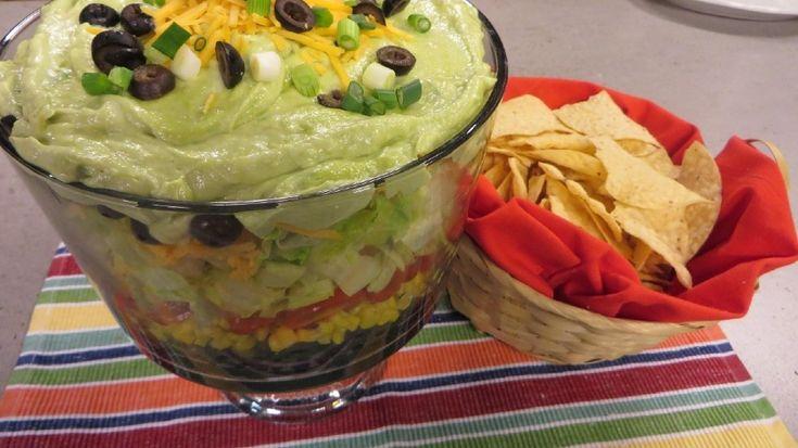 Layered Fiesta Salad   WLUK