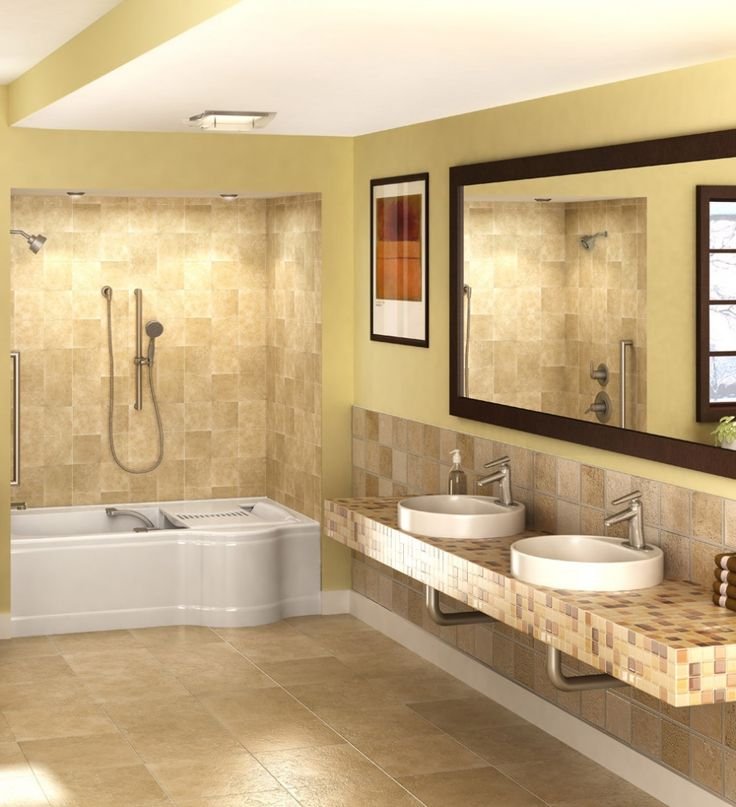 1000 images about bathroom accessible universal design for Wheelchair accessible bathroom designs