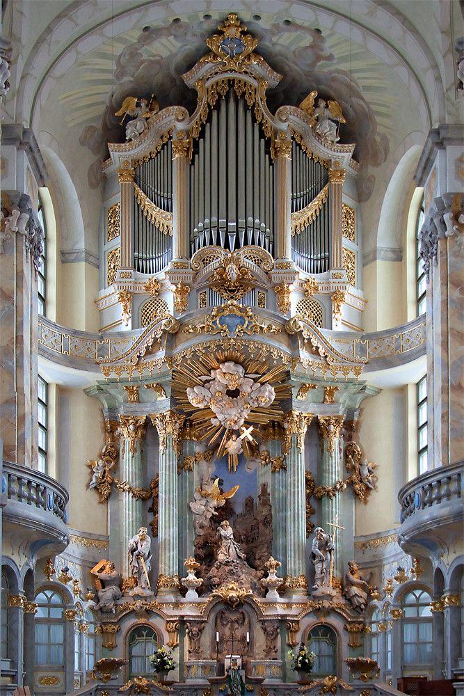 Frauenkirche, Dresden Baroque altar