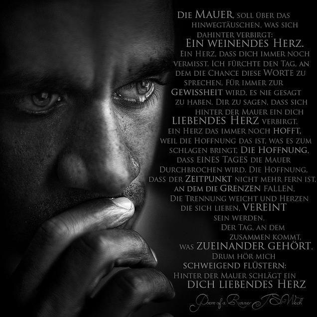 heart2soul | DIE MAUER - Poem of a Runner   #Runner #Dualseelen #Seelenpartner #Zwillingsflammen #JSWiech