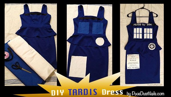 fitflop size chart us DIY TARDIS Dress