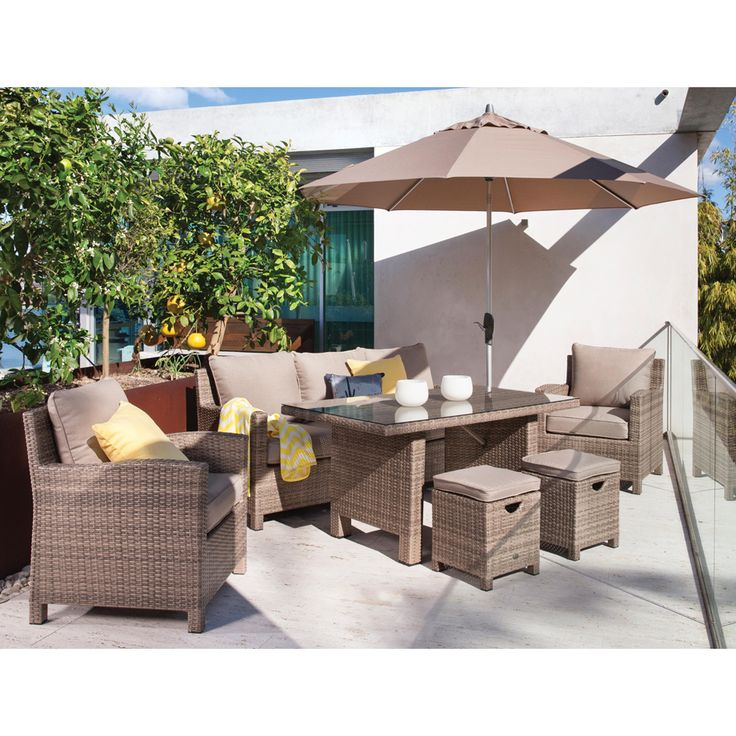 Shelta Norfolk 6 Piece Dining Setting - BBQ's & Outdoor
