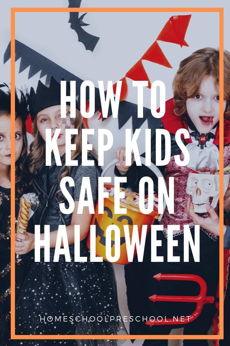 4 Simple Halloween Safety Tips for Preschoolers – Homeschool Preschool Blog Posts
