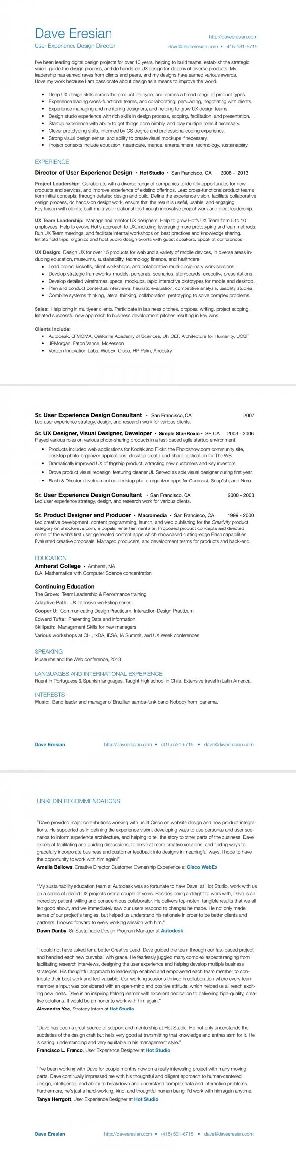 80 Best Resume Cv Images On Pinterest Resume Cv Menu And