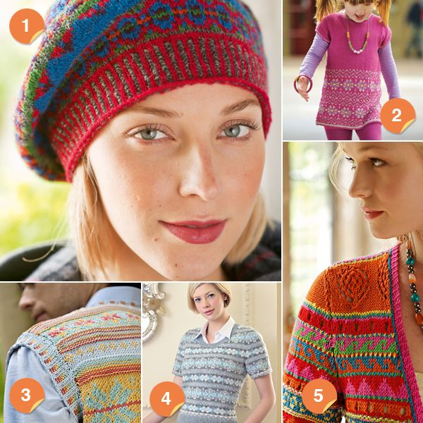216 best Fair Isle images on Pinterest | Knit patterns, Knitting ...