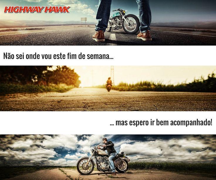 Bom fim de semana!  #lusomotos #highwayhawk #acessórios #moto #estilodevida #fimdesemana