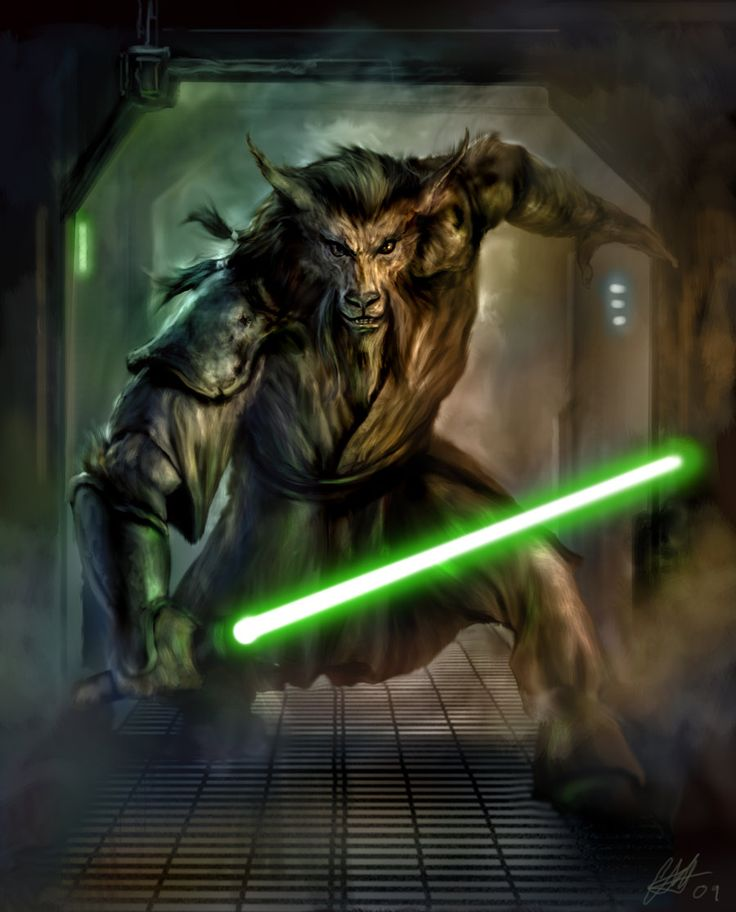 Star Wars illustrations by Chris Scalf | The Dark Side of the Force