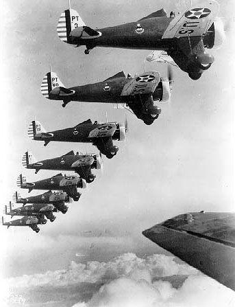 Boeing P-26 Peashooters