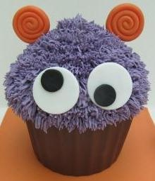 Monster Giant Cupcakes