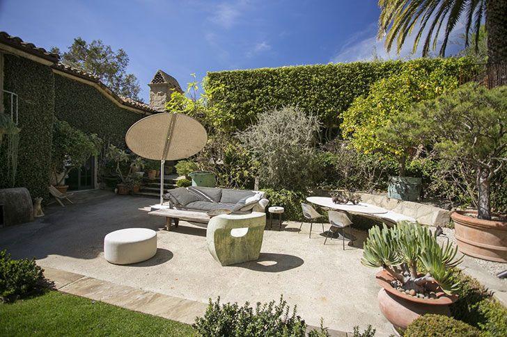 Дом американской телеведущей в средиземноморском стиле в Санта-Барбаре | Пуфик - блог о дизайне интерьера