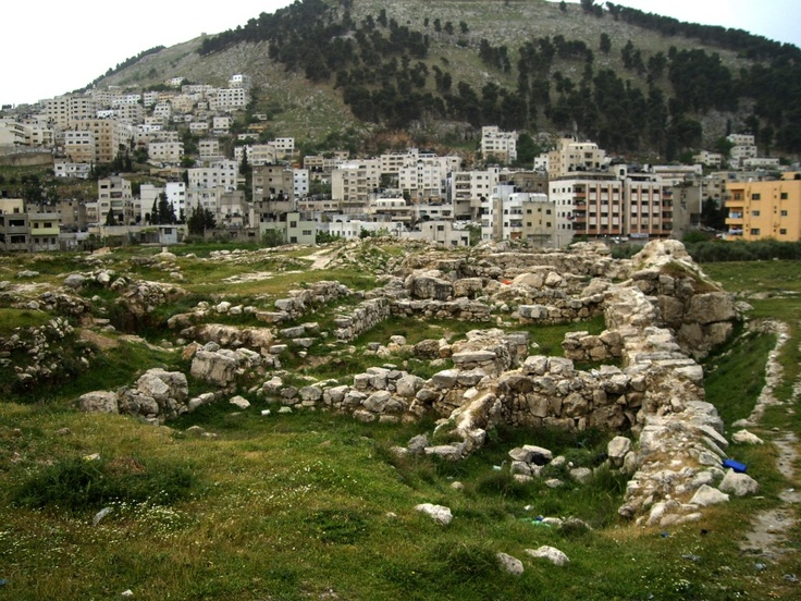 A team of archaeologists from Leiden University and Palestinian Department of Antiquities  are currently excavating the ancient site of Tell Belata, found in the Palestinian West Bank in the modern city of Nablus.