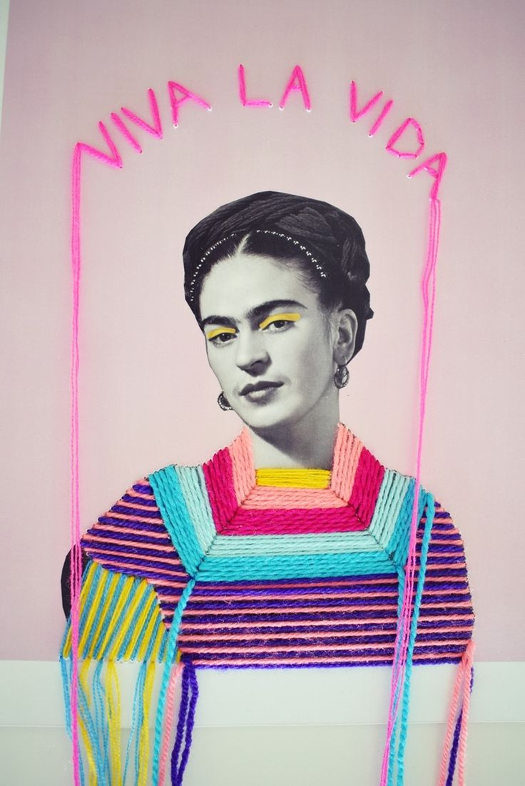 """Frida Kahlo portrait 11"""" x 8.5""""( 28X22 cm) The title of this work comes from her las painting called: Viva La Vida (1954): The..."""