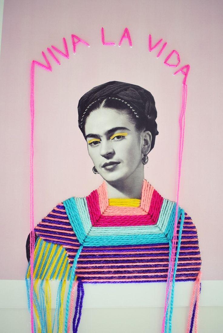 VIDA Statement Clutch - Frida, queen of hearts by VIDA