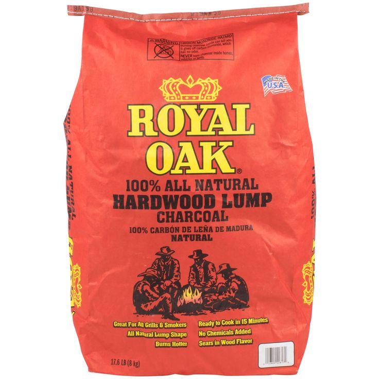 Royal Oak Natural Wood Lump Charcoal - 8 Kg. Bag
