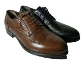 Italian wingtip shoes for men by Nero Giardini