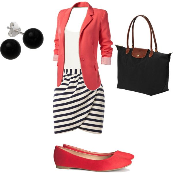 """Summer Work Outfit"" by mckalabvt on Polyvore Cute outfit!"