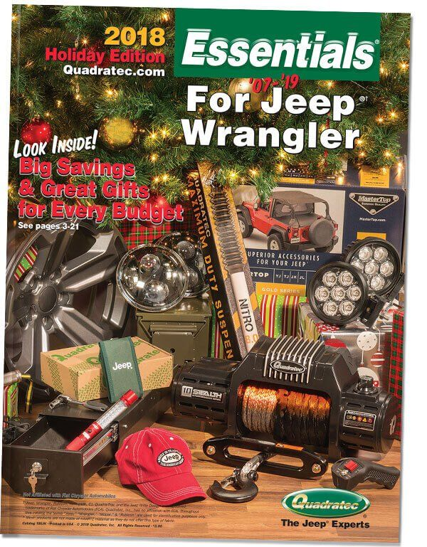 Request A Free Quadratec Essentials Jeep Parts Catalog Quadratec Jeep Parts Jeep Wrangler Jeep