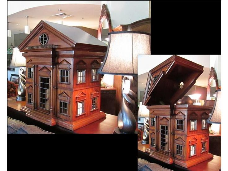 Maitland Smith Doghouse, Available At Design With Consignment In Austin.