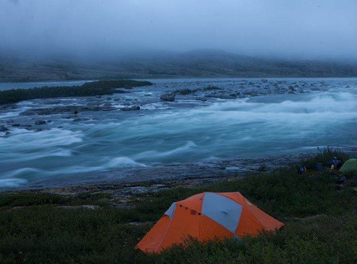 #Camping along the Koroc #river in #Nunavik #Quebec #Canada.  More photos from our expedition: http://www.opxpeditions.com/kuururjuaq/gallery